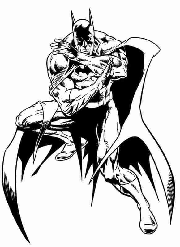 Les Coloriages Batman Sur Un Max De Coloriages
