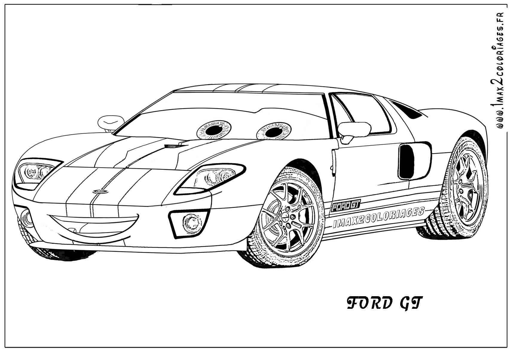Coloriagesde cars 2 page 3 - Coloriage cars jpg ...