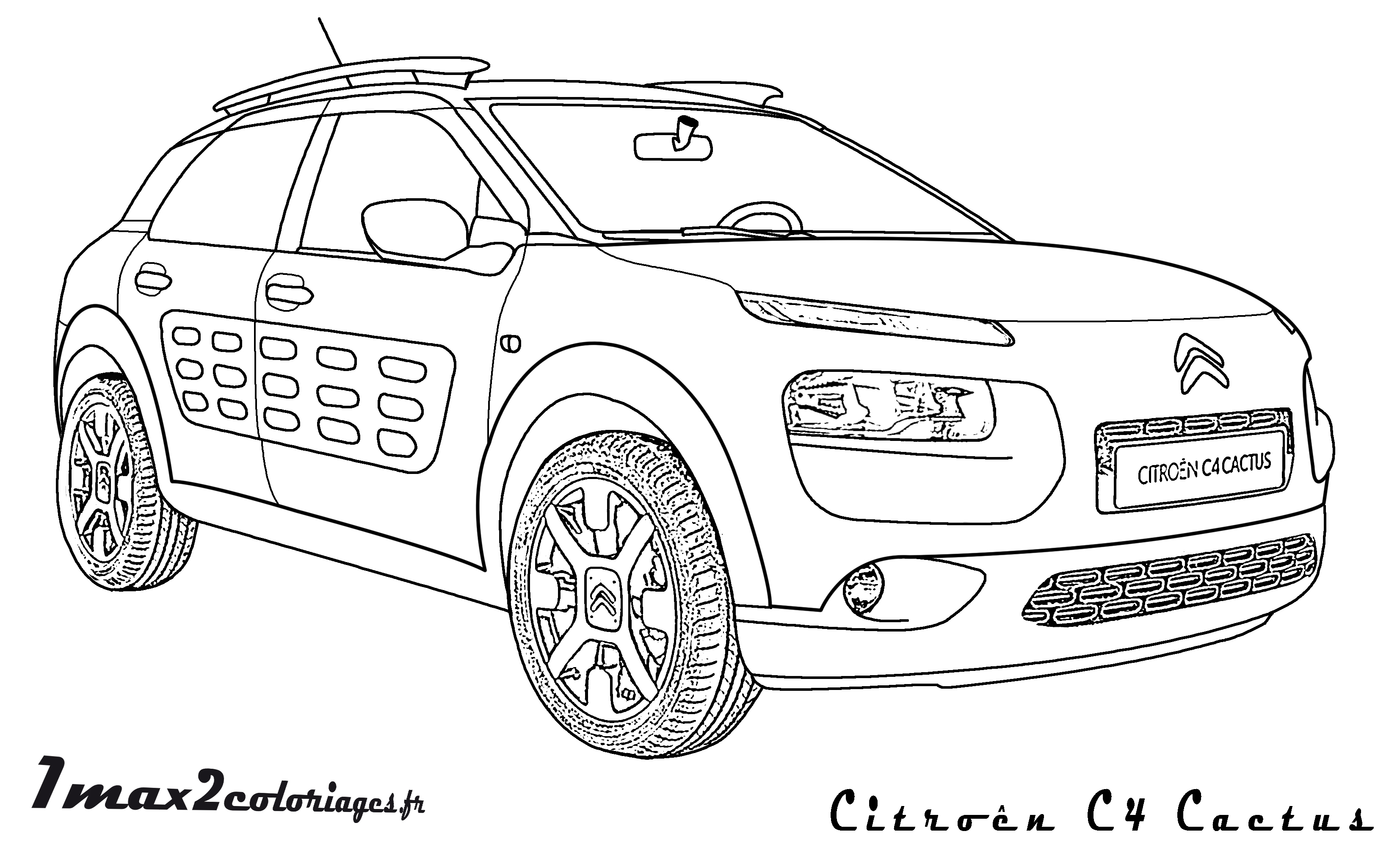 Citroen C4 Cactus on aston martin