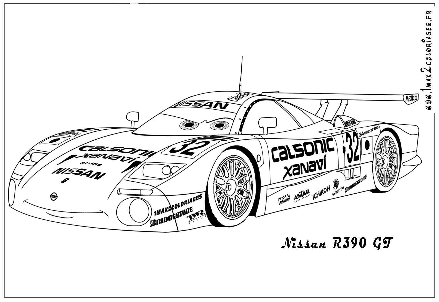 Audi r8 free coloring pages - Coloriage audi r8 ...