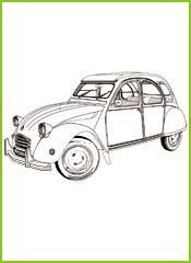 Dessins Automobiles A Imprimer Et A Colorier