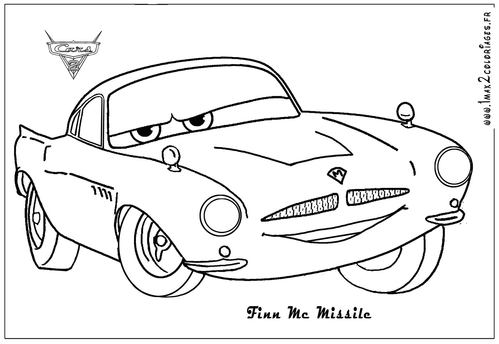Beau Dessin A Colorier Cars Dinoco