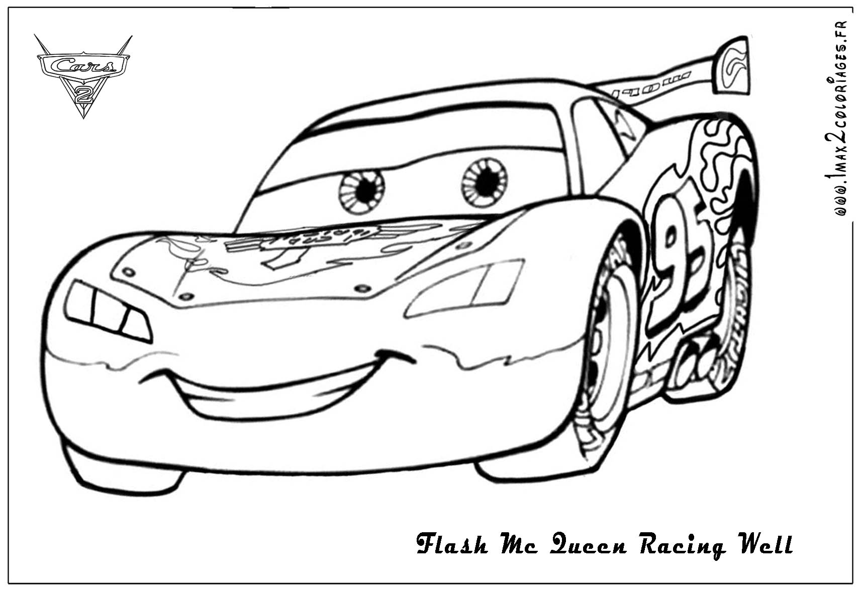 coloring pages of cars 2 - photo#32