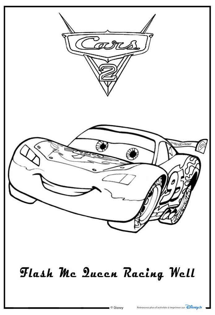 coloriages Cars 2 coloriages