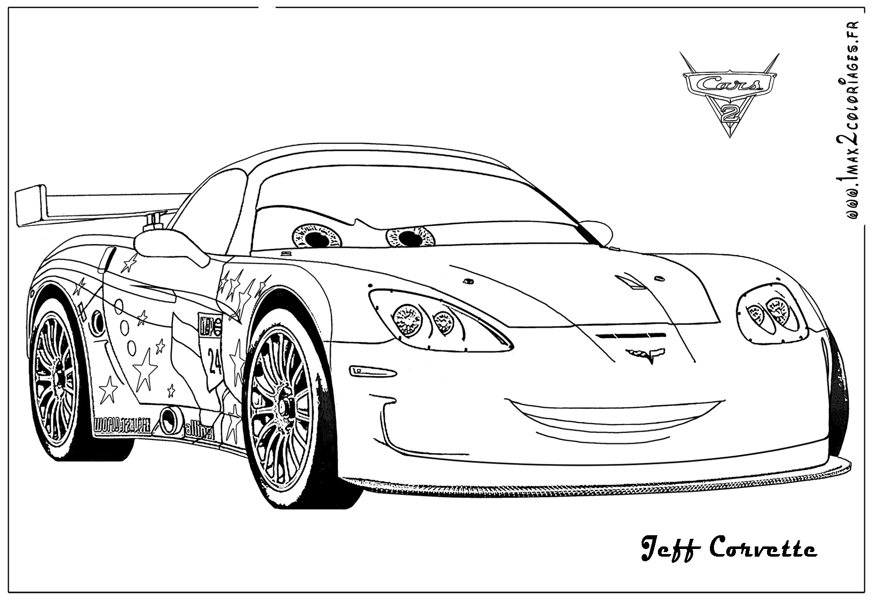 cars 2 coloring pages - Cars 2 Coloring Pages To Print