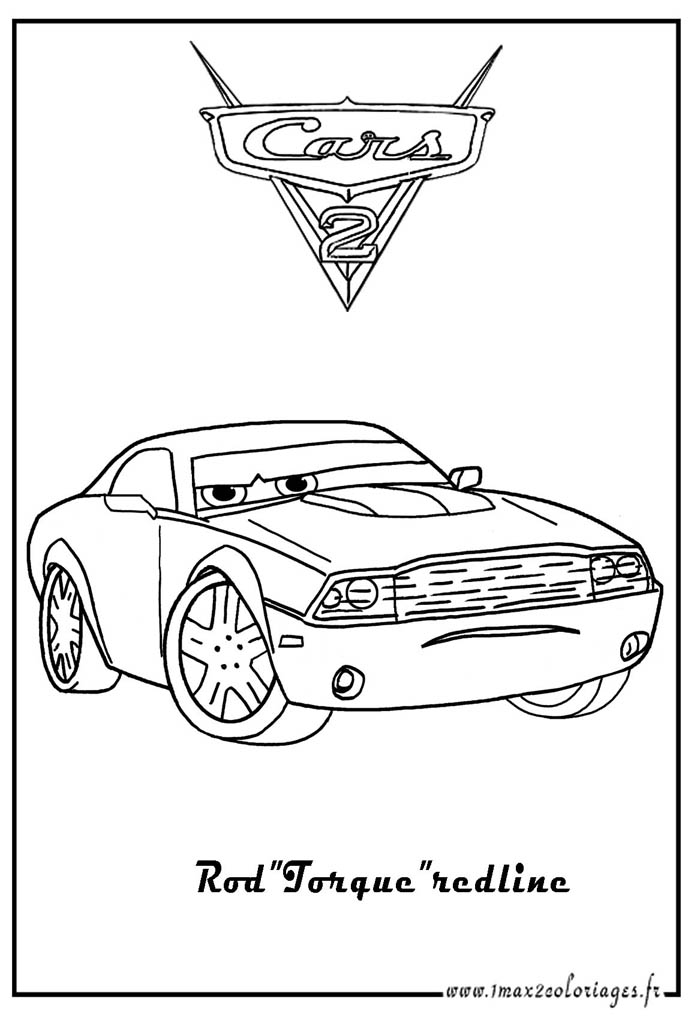redline coloring pages | Torque Coloring Pages