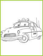 Coloring page cars 2 - Coloriage cars toon ...