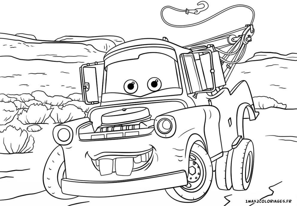 Coloriage De Cars 3.Coloriage Cars 3 Martin