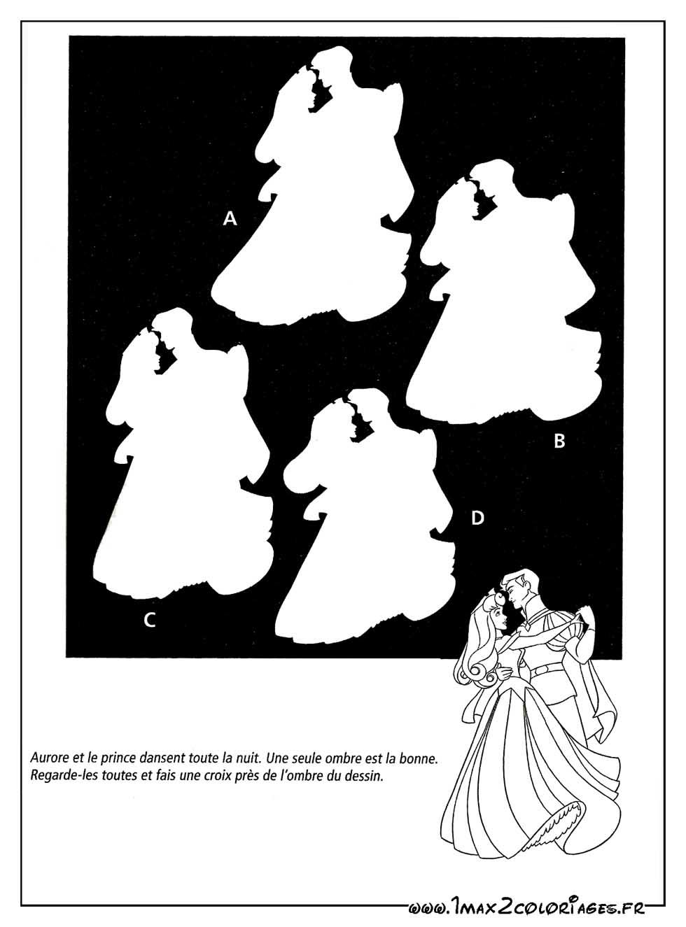 Jeux de dessin avec les princesses walt disney - Carte aurore partenaire ...