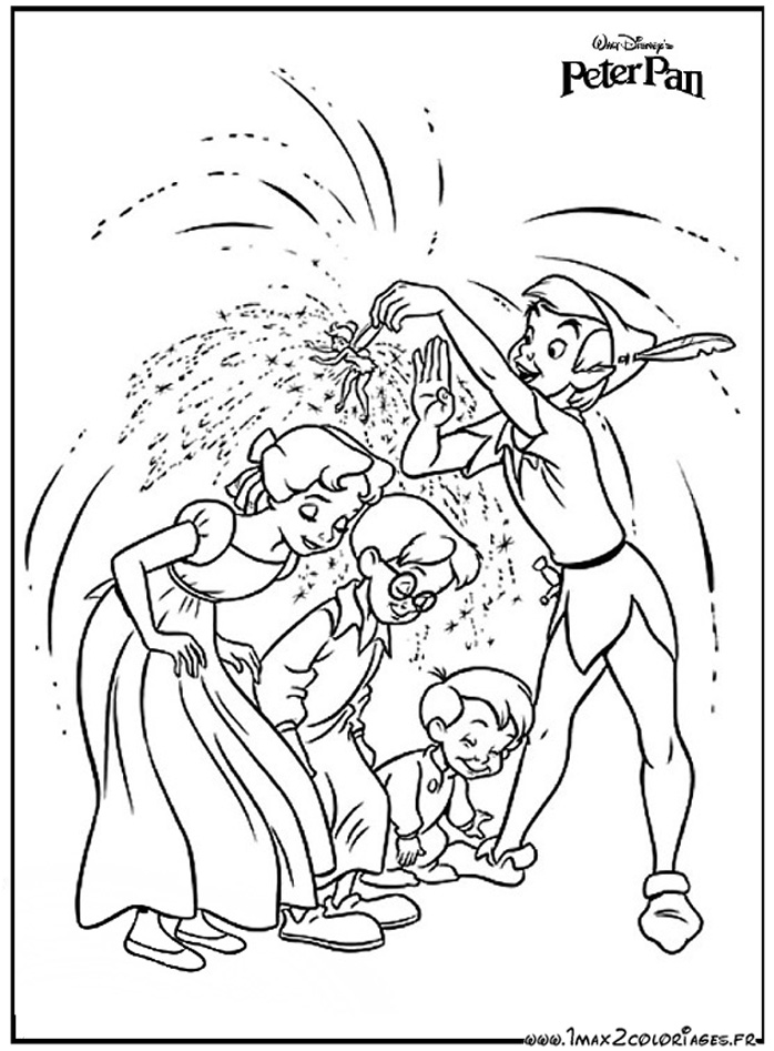 Funky Coloriage Peter Pan Et Clochette Gift - Coloring Page Ideas ...