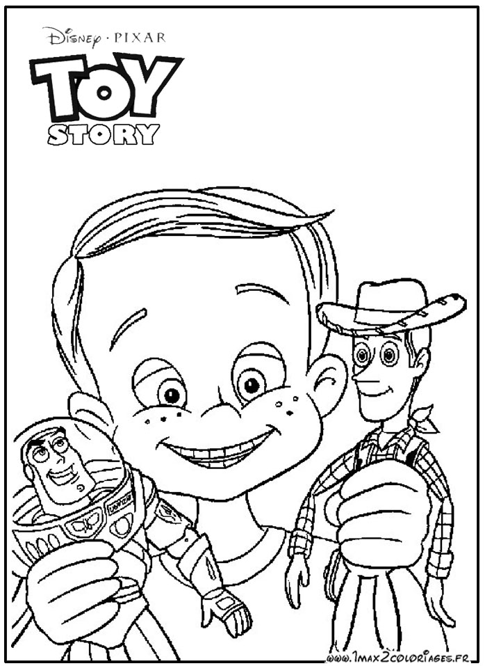 toy story coloring pages sid - photo#2