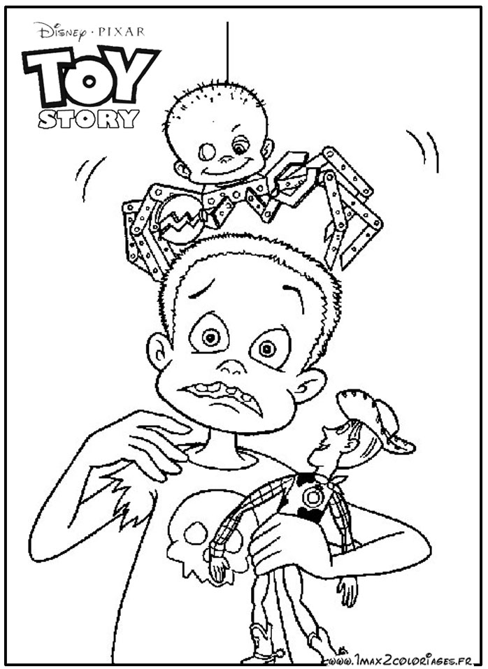 toy story 1 coloring pages - photo#8