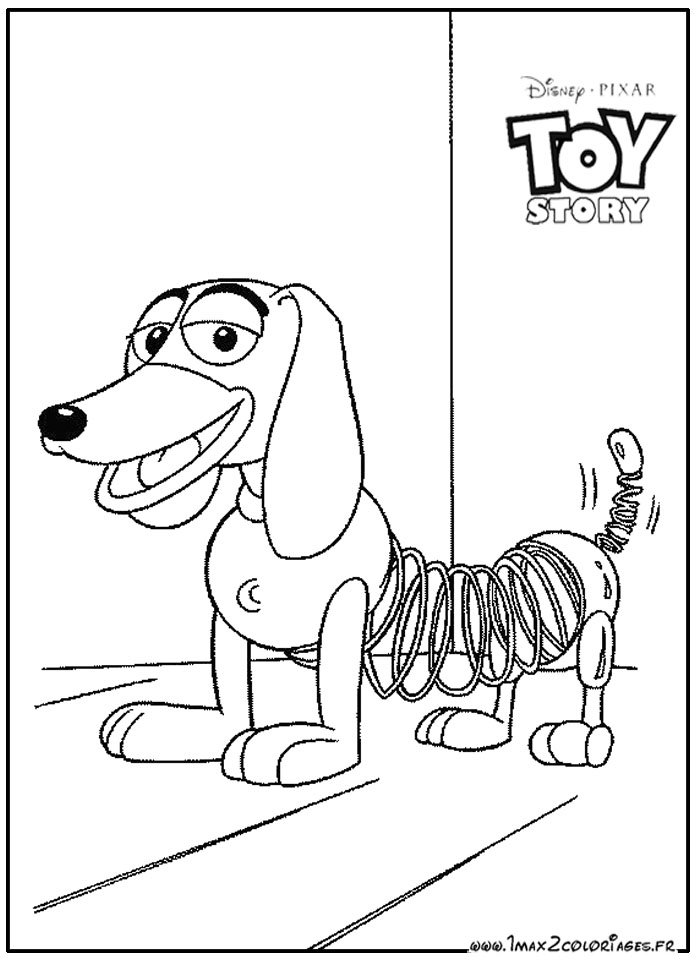 Coloriages toy story 1 zig zag - Coloriage pixar ...