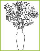 Coloriages De Fleurs A Imprimer Et A Colorier Des Marguerites Des