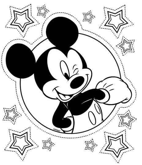 Coloriages De Mickey Mouse A Imprimer Gratuitement Page 1