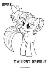 Coloriage Princesse Twilight Sparkle.Coloriage De La Princesse Twilight Sparkle