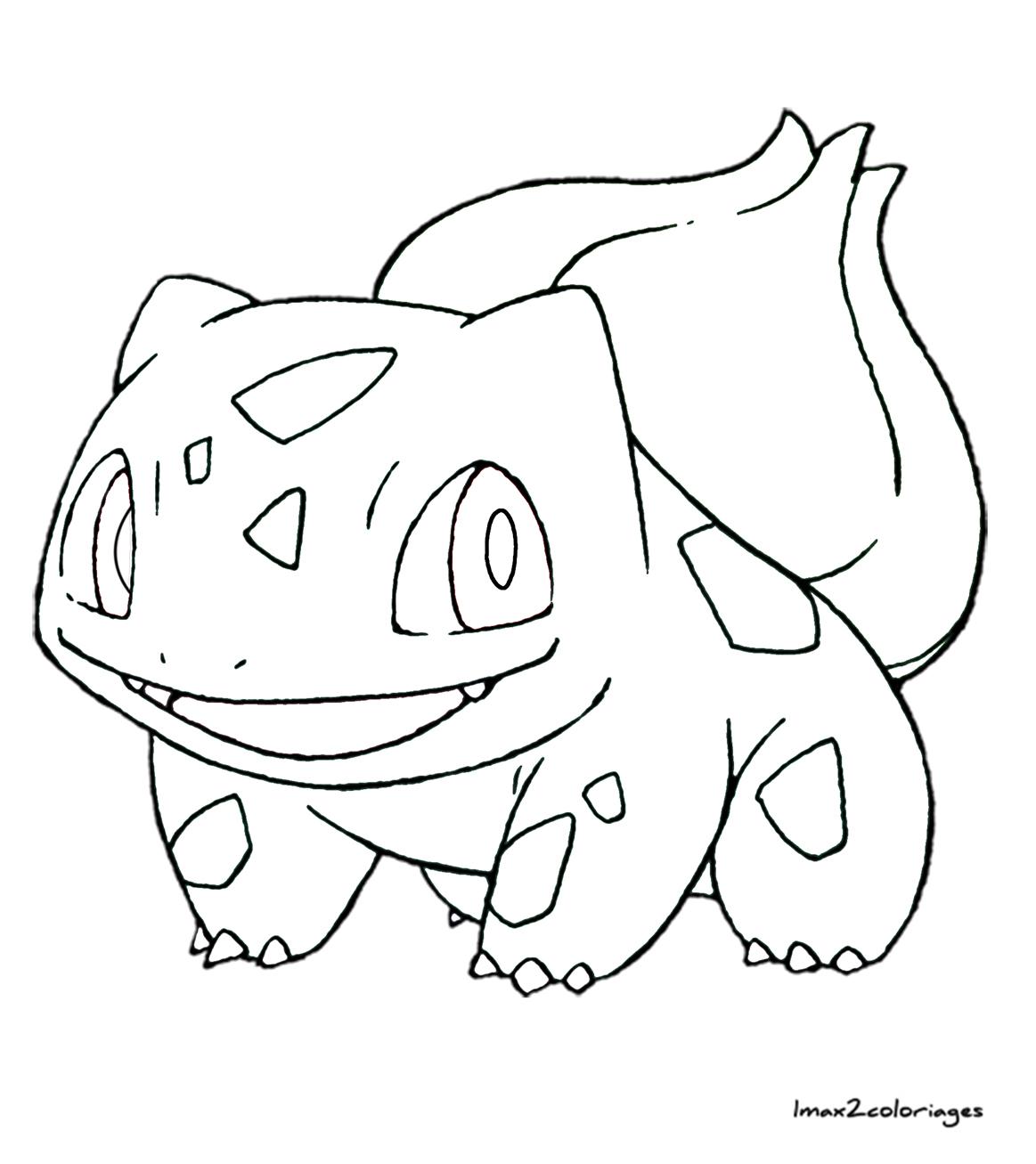 Coloriages Pokemon Bulbizarre