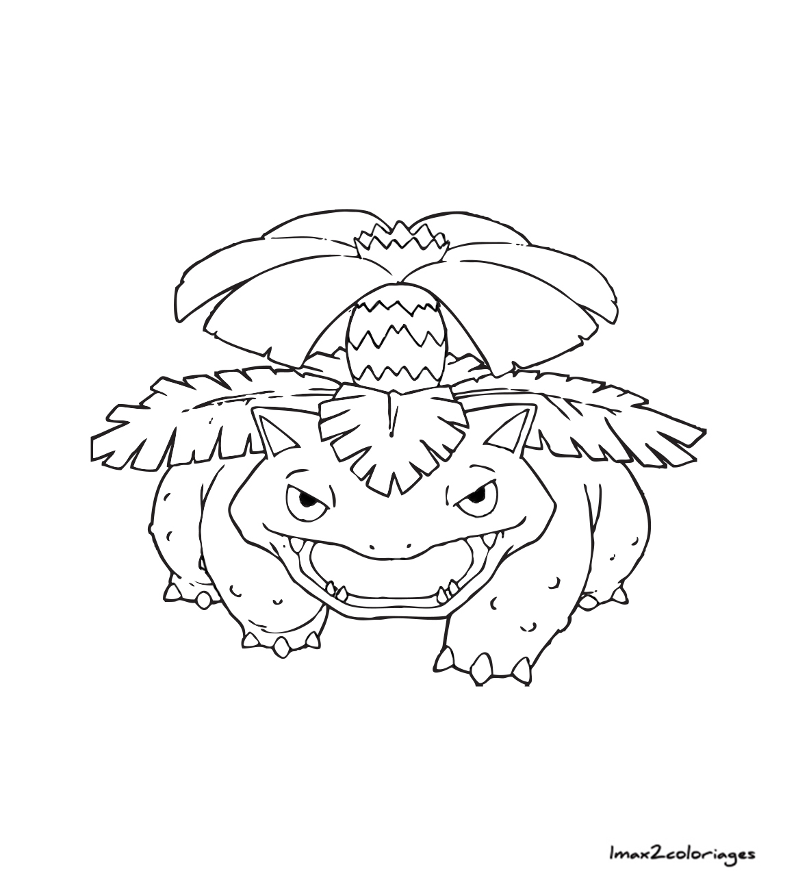 Coloriages pokemon florizarre - Pokemon florizarre ...