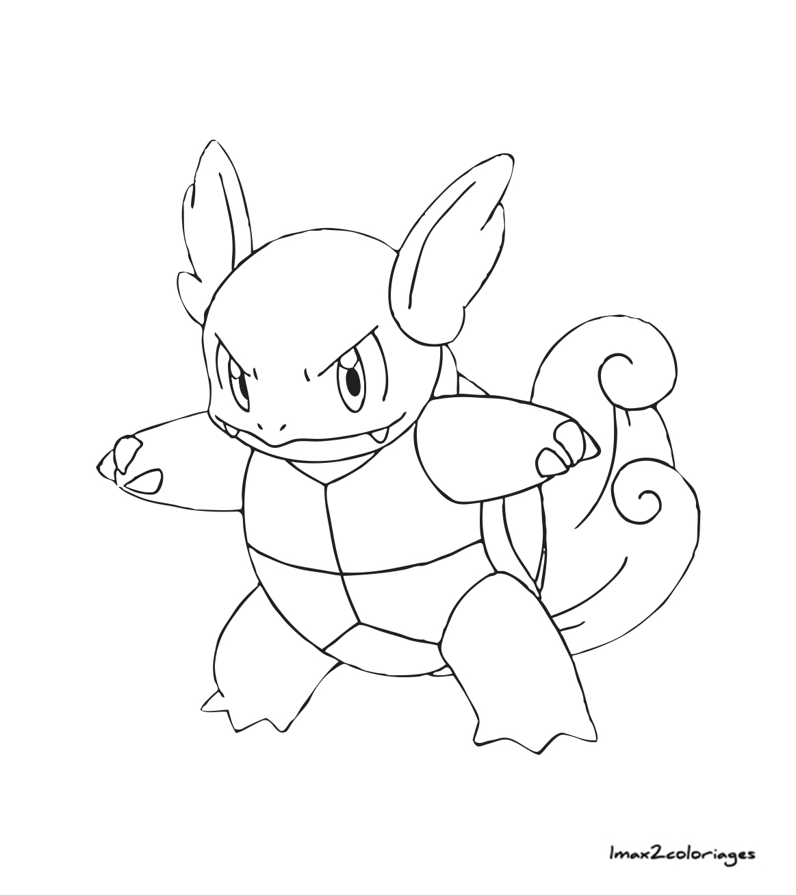 Coloriages Pokemon Carabaffe