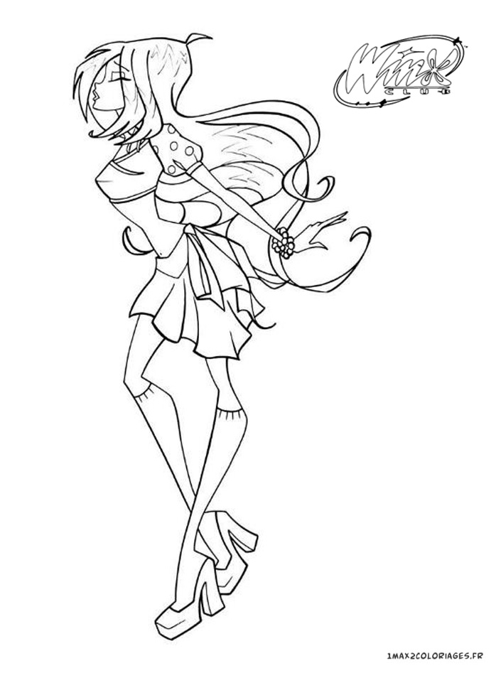 Search results for winx club coloriage a imprimer - Coloriage stella ...
