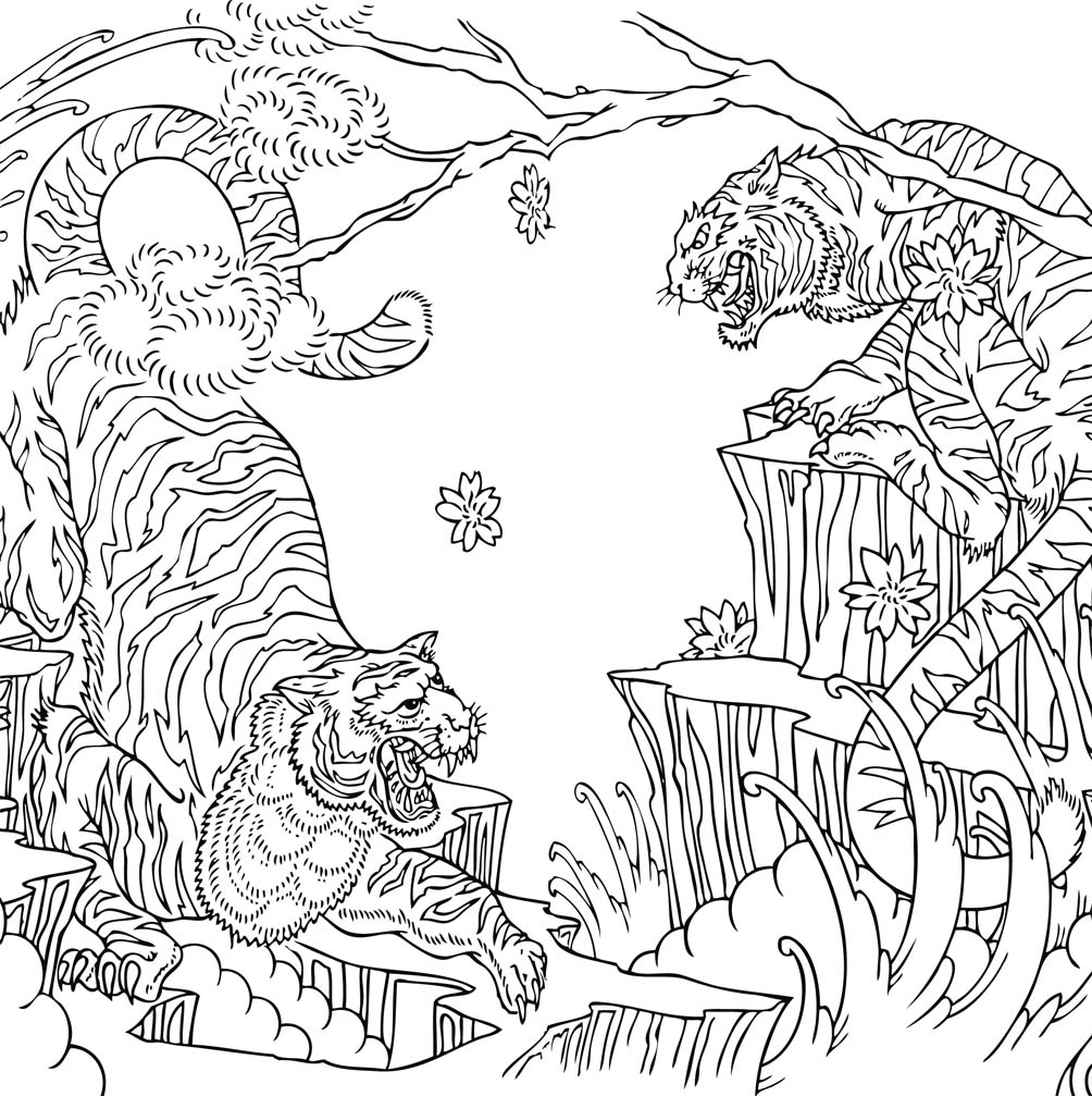 anti stress coloring pages advanced - photo#8