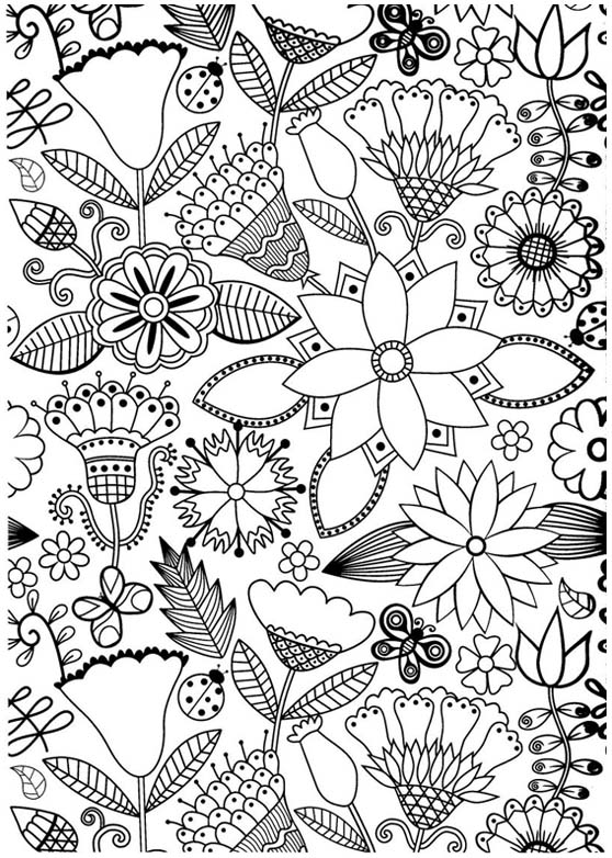 free coloring pages of antistress coloriage. Black Bedroom Furniture Sets. Home Design Ideas