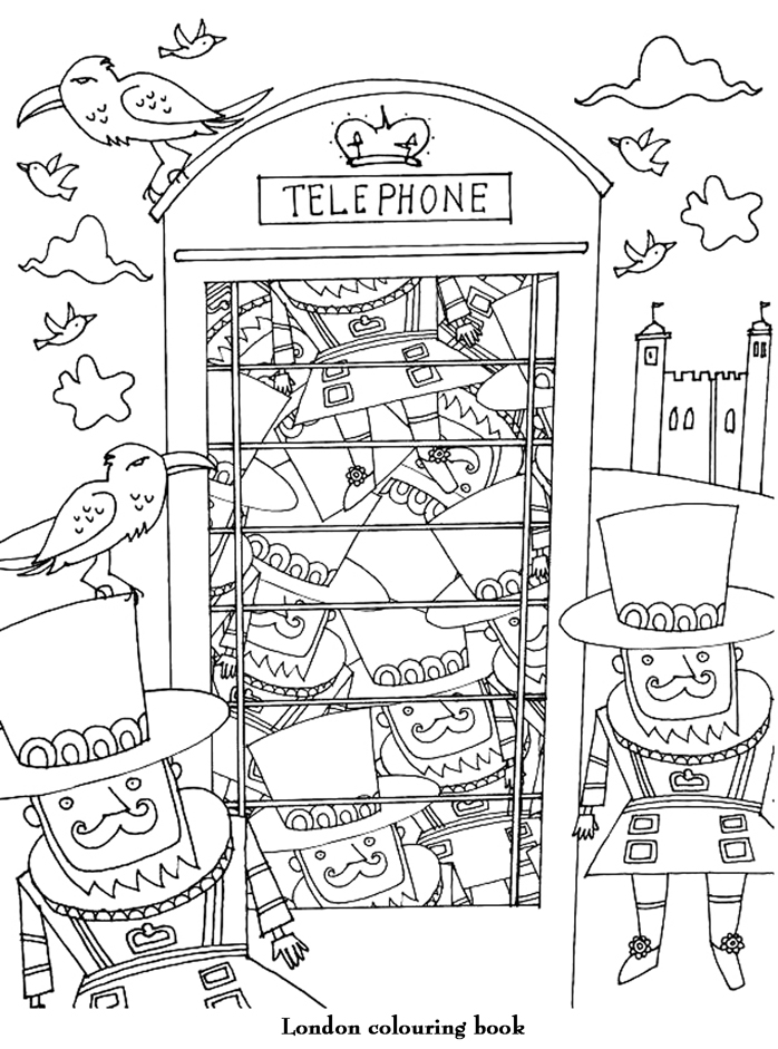 coloriage adulte art therapie telephone colorier. Black Bedroom Furniture Sets. Home Design Ideas