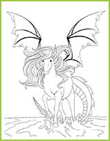 coloriage dragons 2