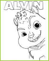 Coloriages du film alvin et les chipmunks a imprimer et a colorier - Coloriage de alvin et les chipmunks 2 a imprimer ...