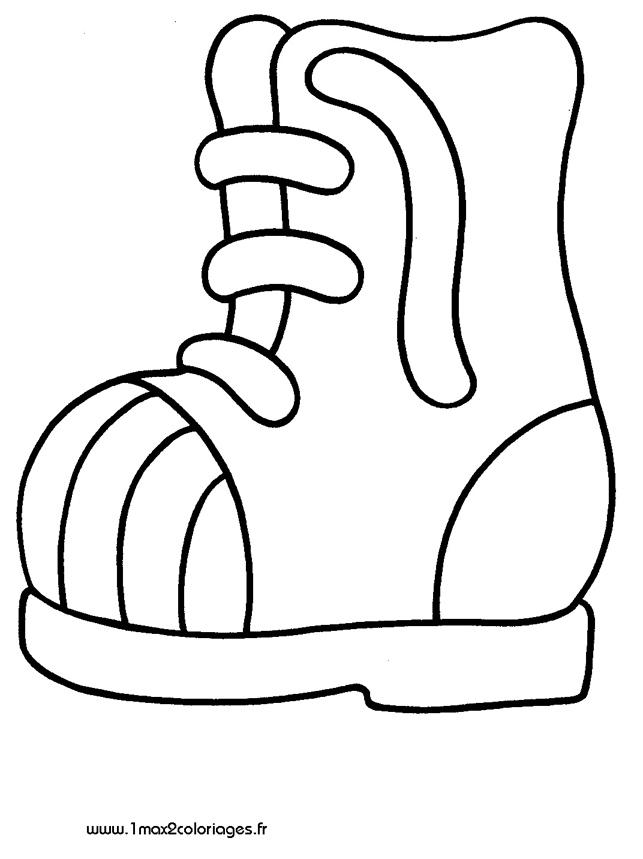Les 3 4 ans une chaussure ou choisir un autre coloriage de 3 4 ans