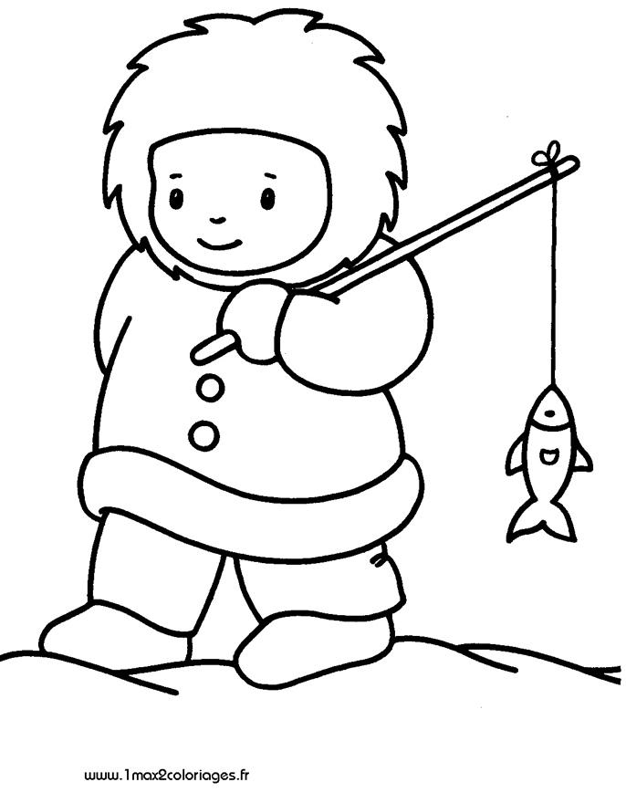 Dessin esquimau - Esquimau dessin ...