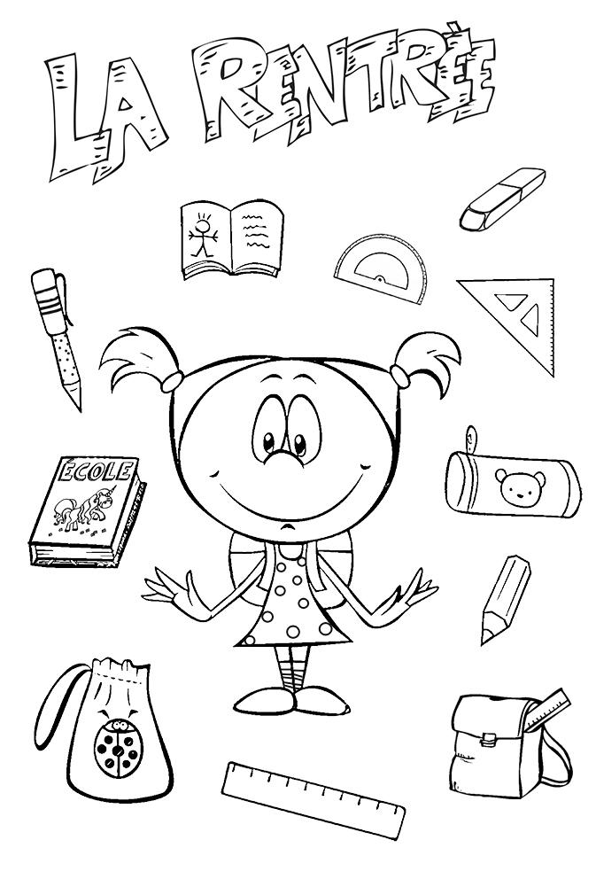 Coloriages Rentree Des Classes La Rentree Scolaire A Imprimer Et A