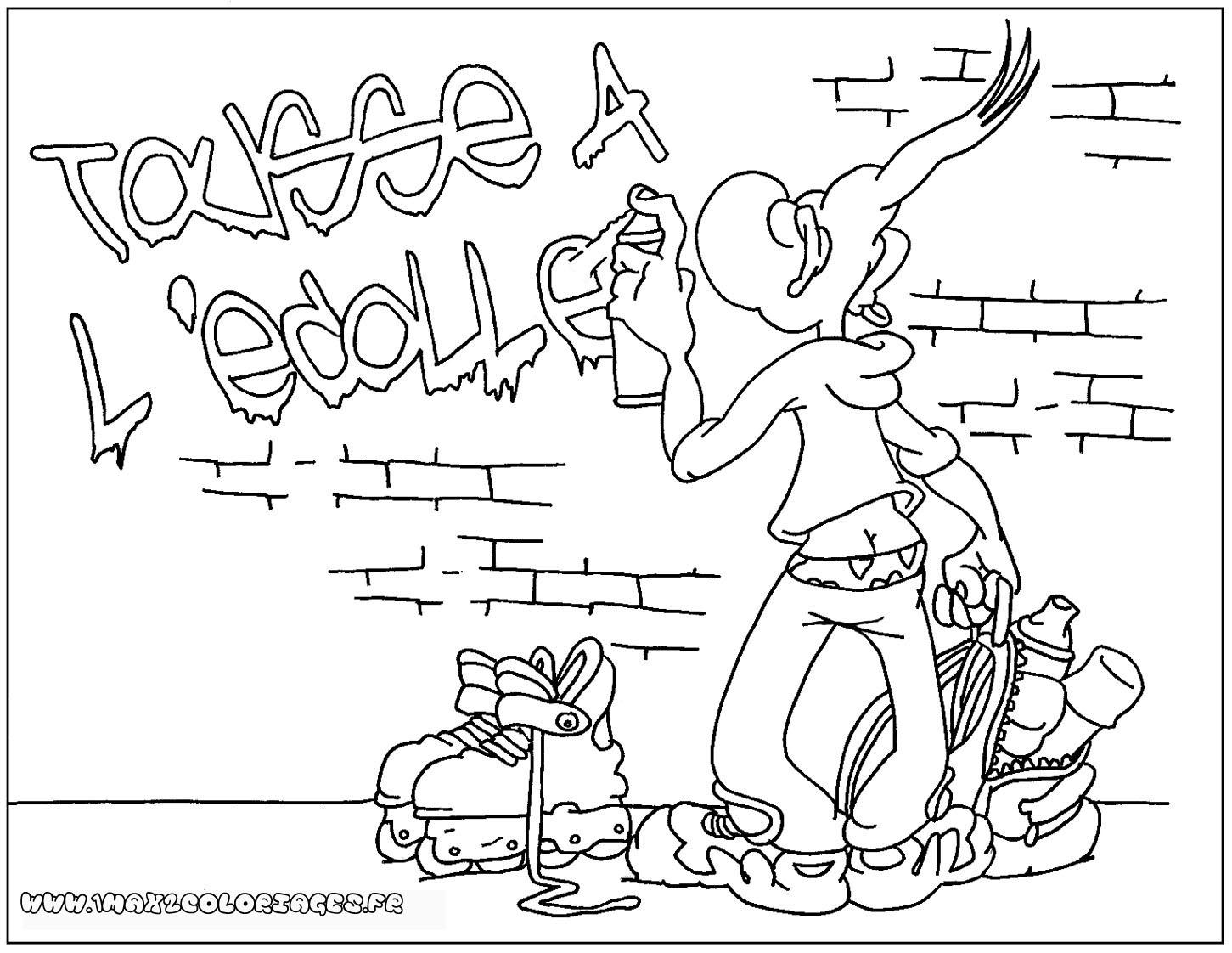 Dragon ball z dessin a colorier goku super saiyen 4 - Coloriage graffiti ...