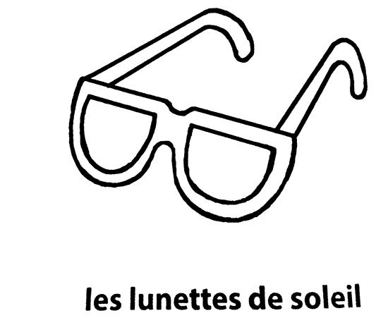 Bien-aimé mon premier imagier les lunettes de soleil à colorier IL46