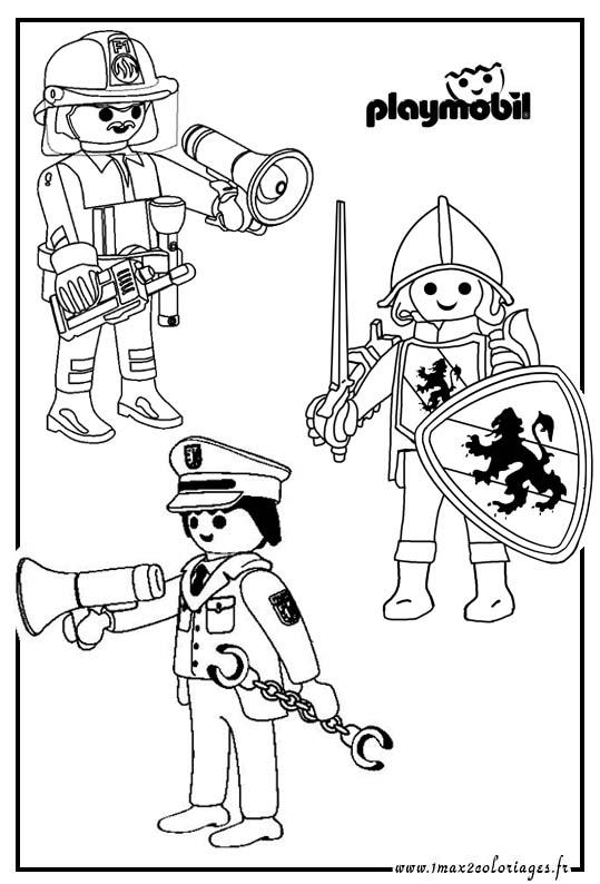 Coloriage playmobil pirate a imprimer - Playmobil coloriage ...