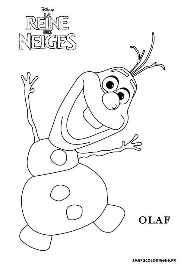 Coloring Pages Of Olaf | New Calendar Template Site