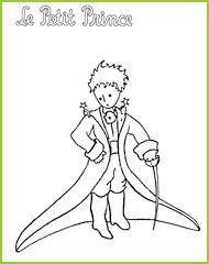 Coloriages du petit prince de saint exupery va imprimer - Coloriage renard petit prince ...