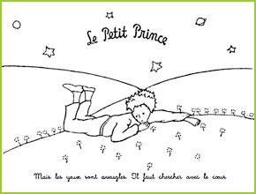 Coloriages du petit prince de saint exupery va imprimer - Coloriage le petit prince ...