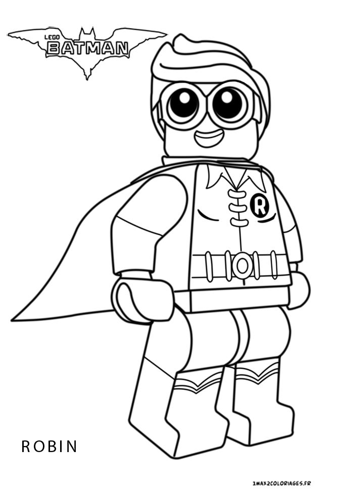 the gallery for gt robin lego coloring pages