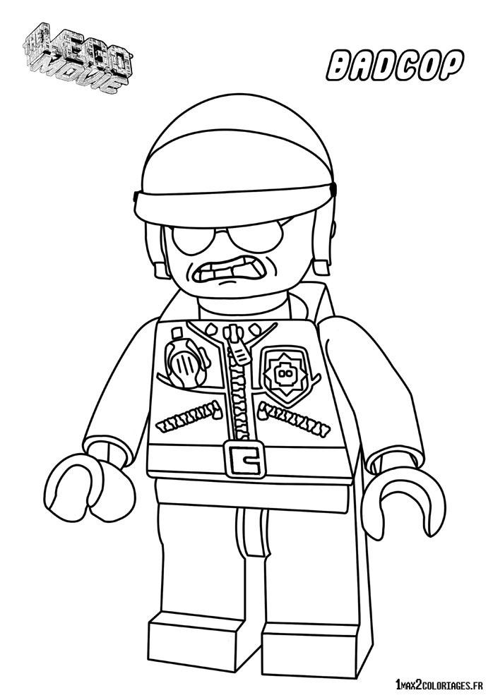 Coloriage personnage lego le film gentil flic mechant - Coloriage personnage lego ...