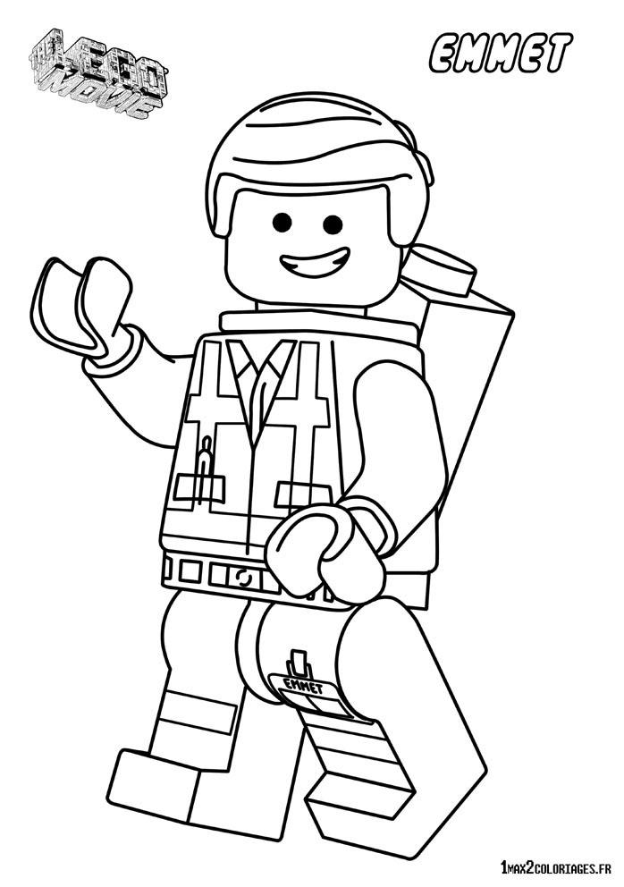 Coloriage personnage lego le film imprimer - Coloriage de lego city ...