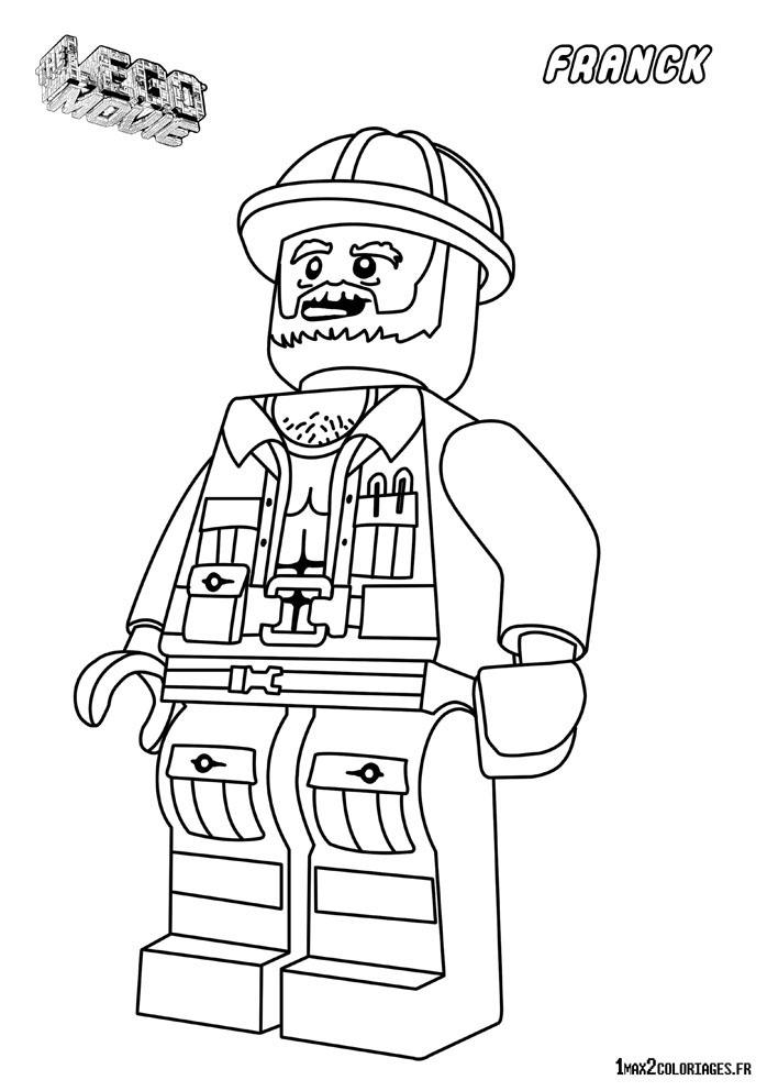 Coloriage personnage lego le film franck le contremaitre - Coloriage personnage lego ...