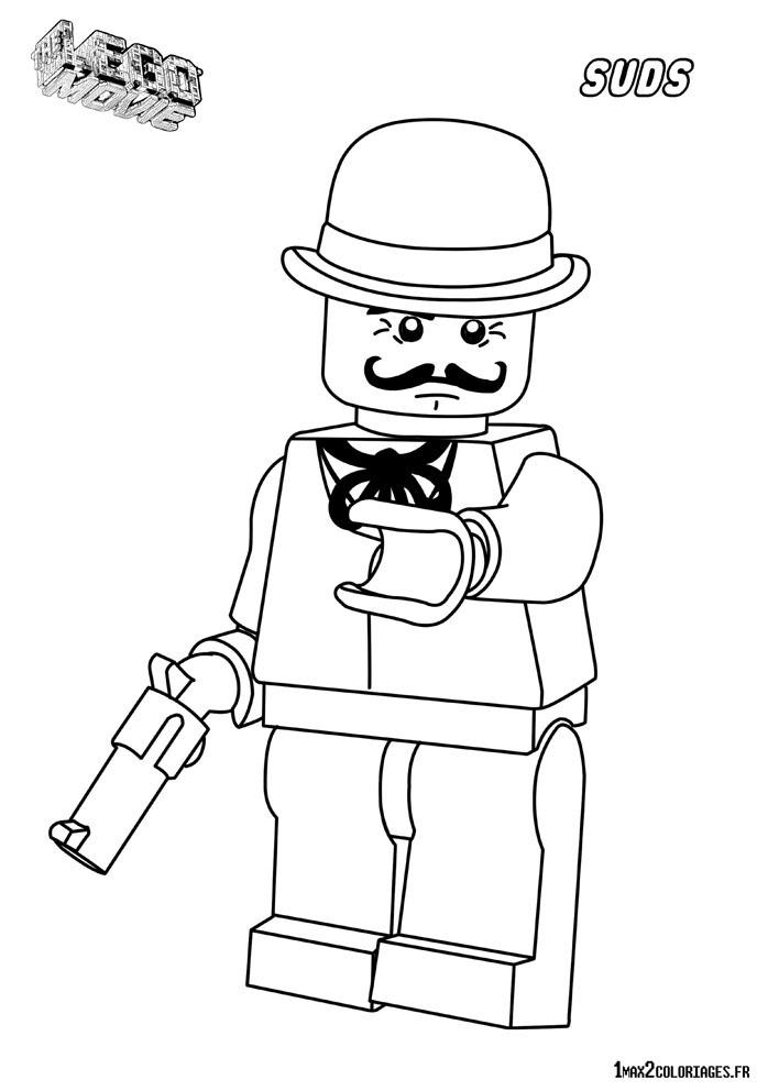 Coloriage personnage lego le film sudds backwash le - Dessin de lego city ...