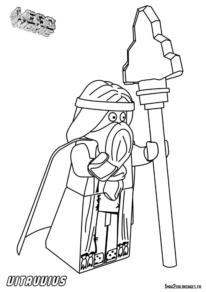 Free coloring pages of metal beard lego