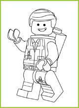 Coloriages Lego Le Film Lego The Movie Coloring Page Emmet Coloring Pages
