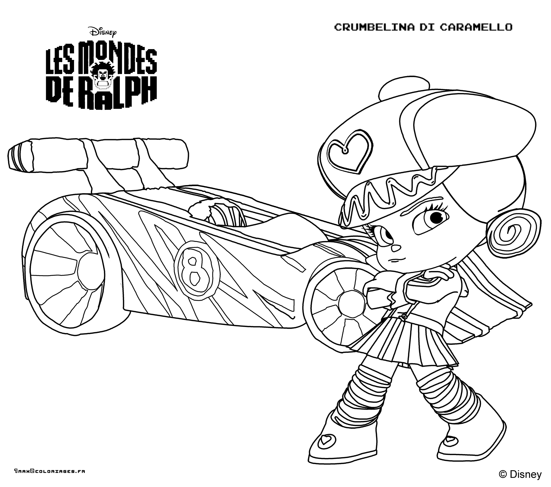 coloring page WreckIt Ralph