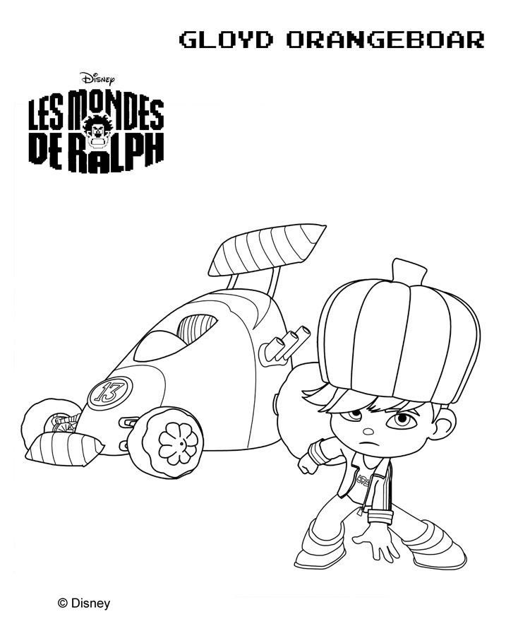 sugar rush coloring pages - photo#23