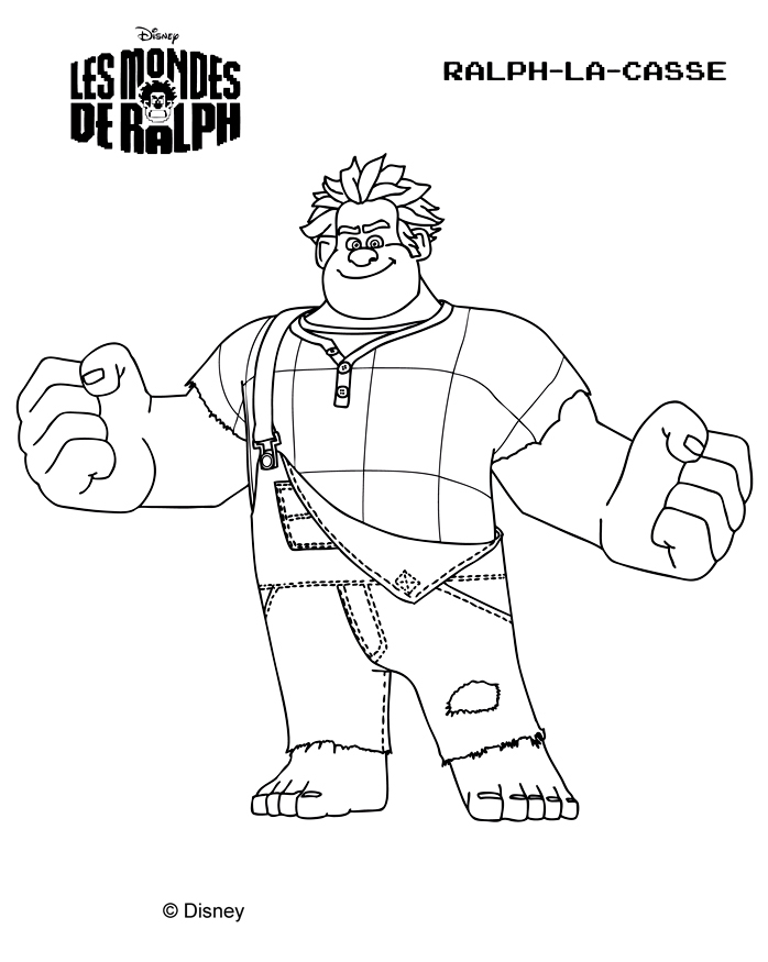 fix it felix coloring pages - coloriage les mondes de ralph coloring page wreck it