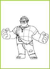Coloring page wreck it ralph - Coloriage ralph la casse ...