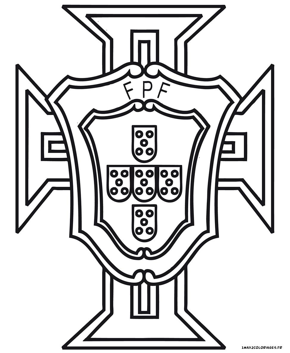 Euro 2016 logo de l 39 quipe du portugal de football - Dessin du portugal ...